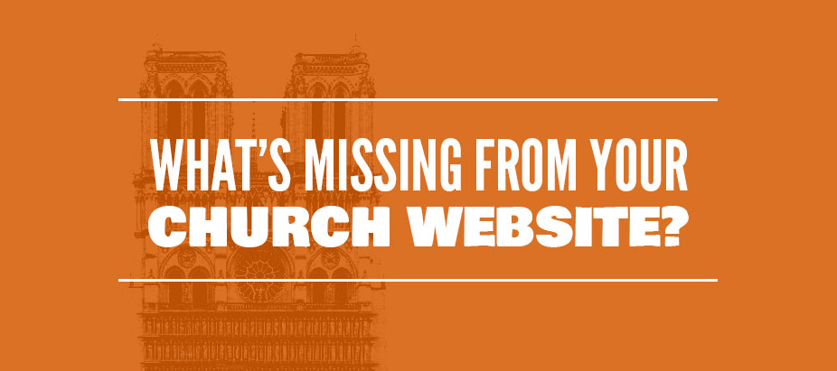 What's Missing from Your Church Website?