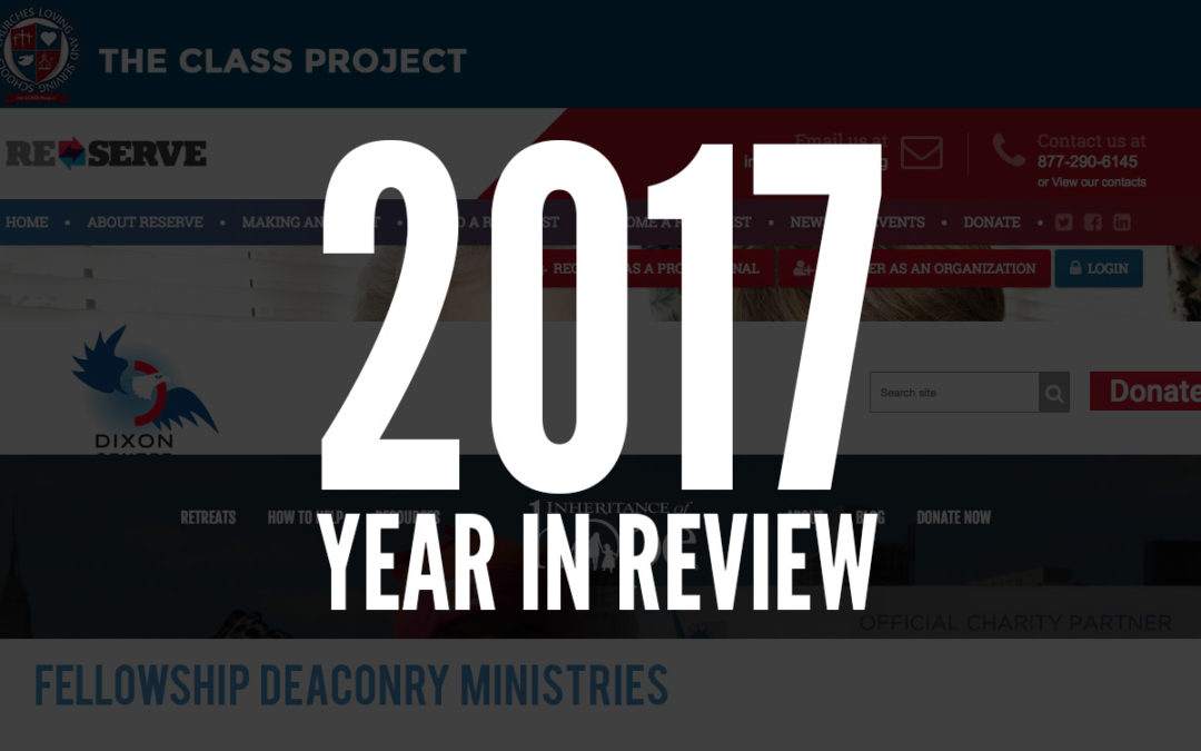 Year in Review: 2017 ServanTek Project Highlights