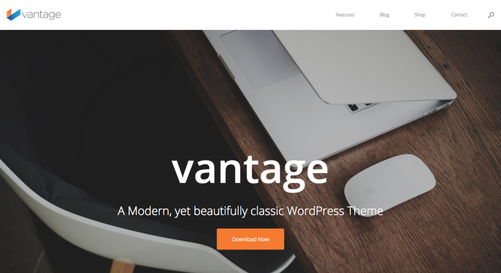 Free WordPress Themes: Vantage