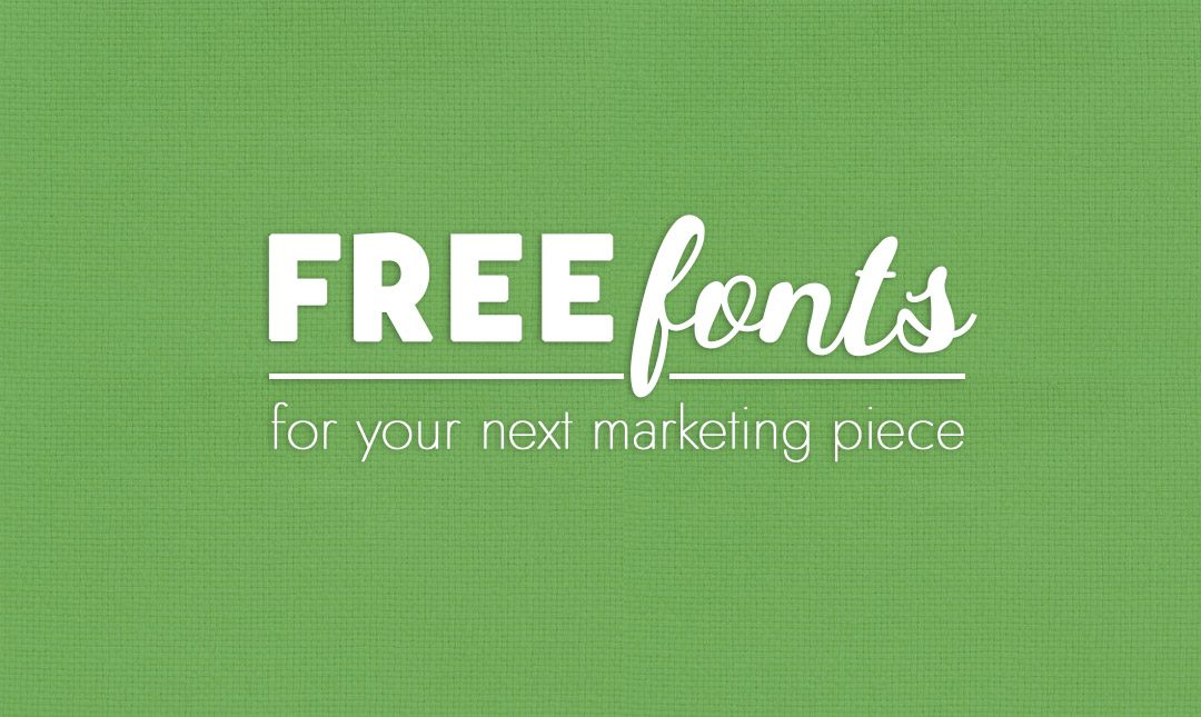 Free Fonts from around the Web